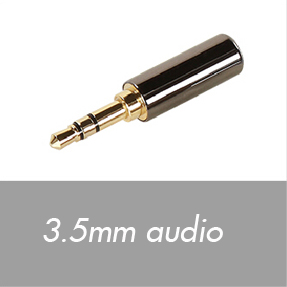 3.5mm audio connectors