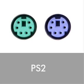 PS2 connectors
