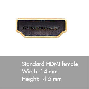 hdmi cable connector