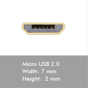 usb 2.0 micro usb connectors